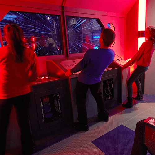 Escape Game Deep Space, 5 Wits. Boston.